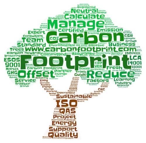 Karbonstratégia - Szénlábnyom